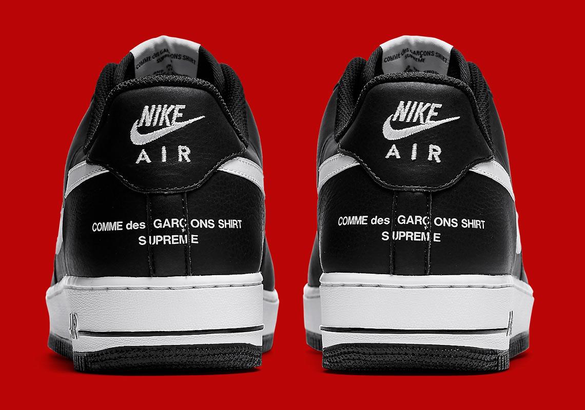 Supreme Cdg Nike Air Force 1 Black