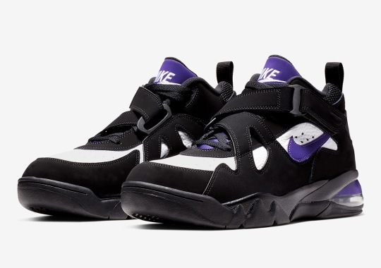 Charles Barkley's Nike Air Force Max Returns In Its Original Colorway
