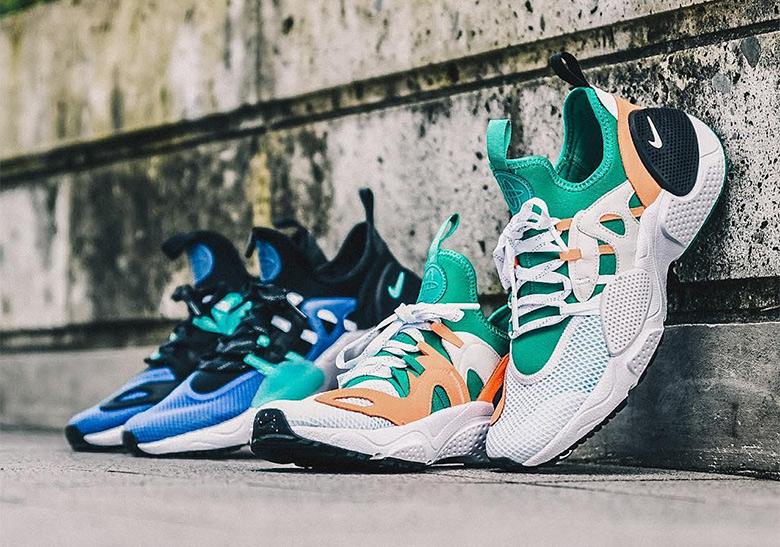 best website 76096 957ed Nike Huarache Edge BQ5206-100 + BQ5206-400   SneakerNews.com