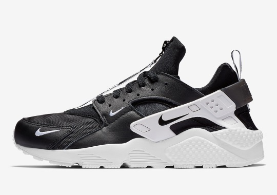 f0baf6dc09c2 The Nike Air Huarache Zip Is Arriving In Three Colorways Soon