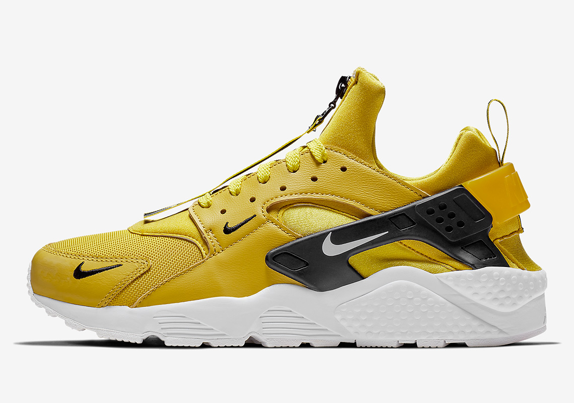 info for 4b289 53be1 Nike Air Huarache Zip  130. Color  Bright Citron Black White Style Code   BQ6164-700. Where to Buy