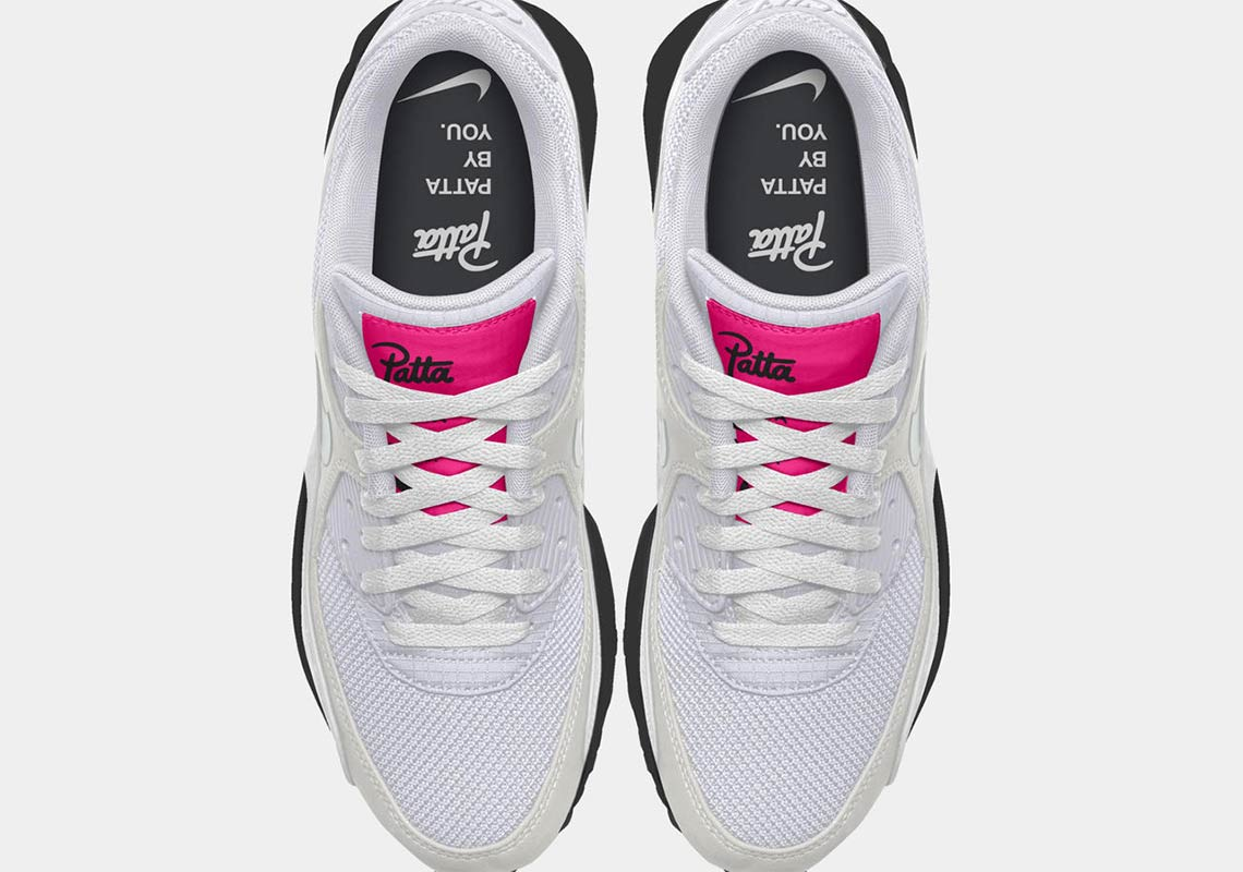 7f958241f8e0e Patta Nike Air Max 90 + 95 Nike By You Release Date