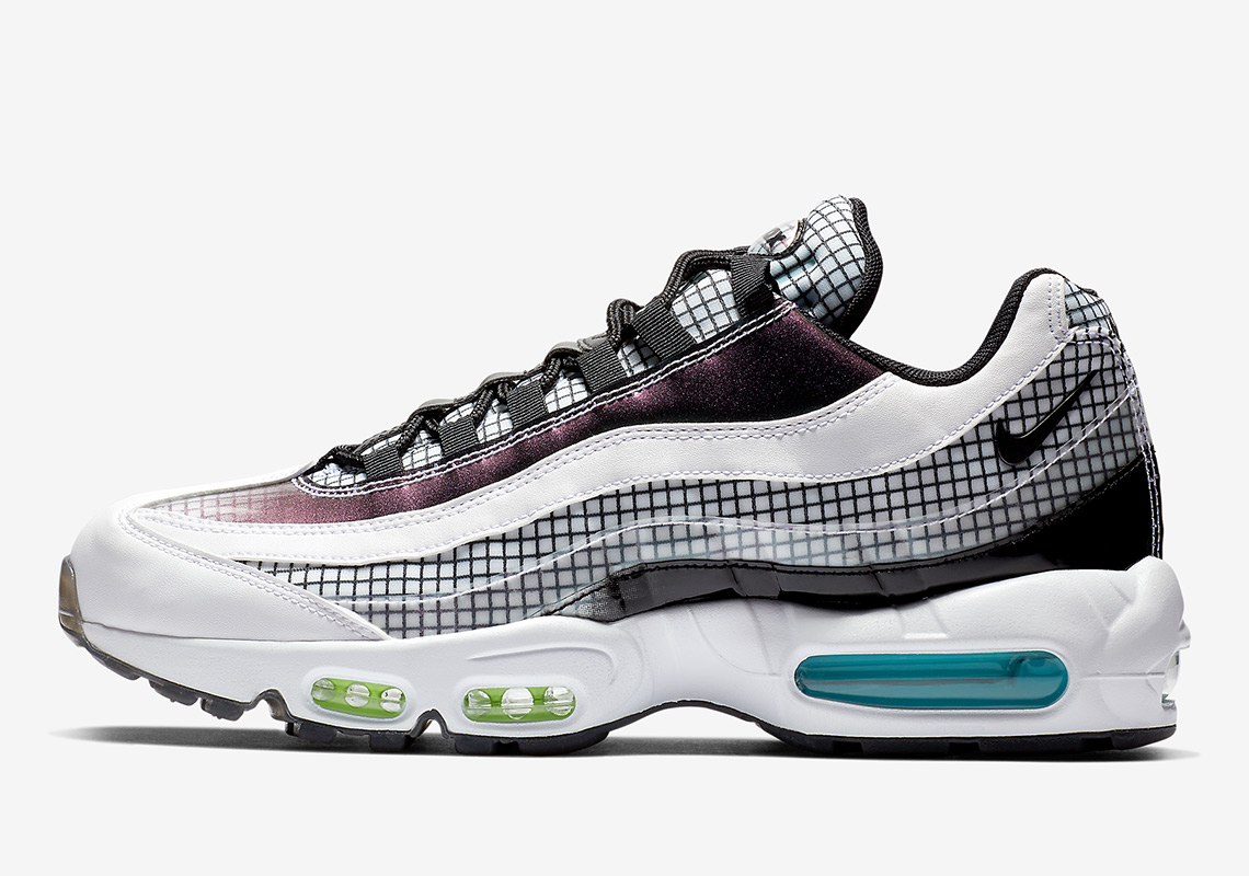 "The Nike Air Max 95 ""Grid Pack"" Drops A Day After Christmas 71bc2411b"