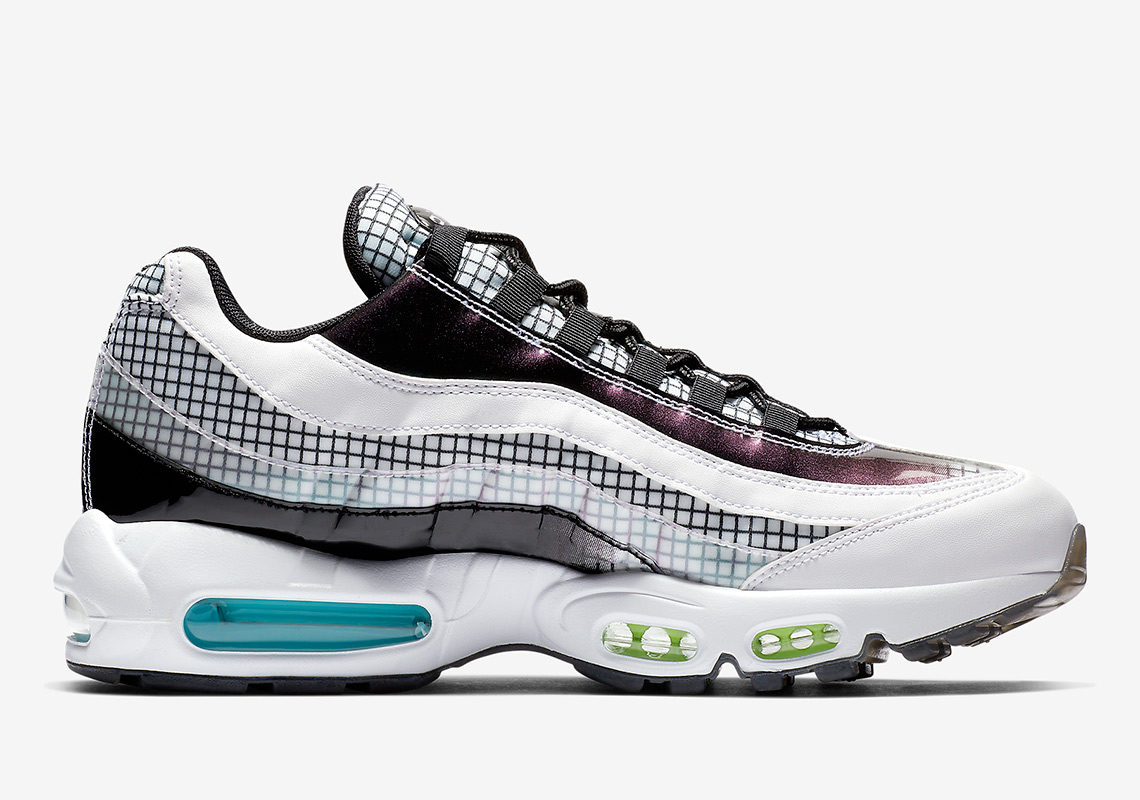 """The Nike Air Max 95 """"Grid Pack"""" Drops A Day After Christmas 