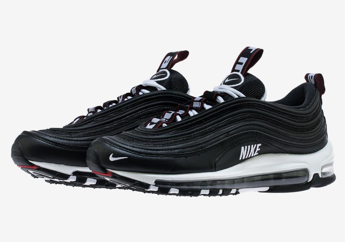 b451167ee7 Nike Air Max 97 Premium Release Date: November 21st, 2018. STORE LIST $170.  Color: Black/White-Varsity Red