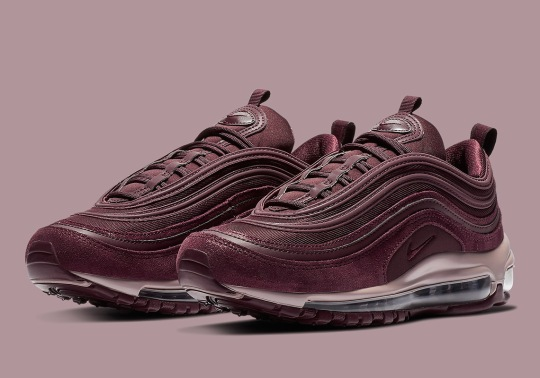 "Nike Air Max 97 SE ""Burgundy Crush"" Is Dropping Soon For Women"