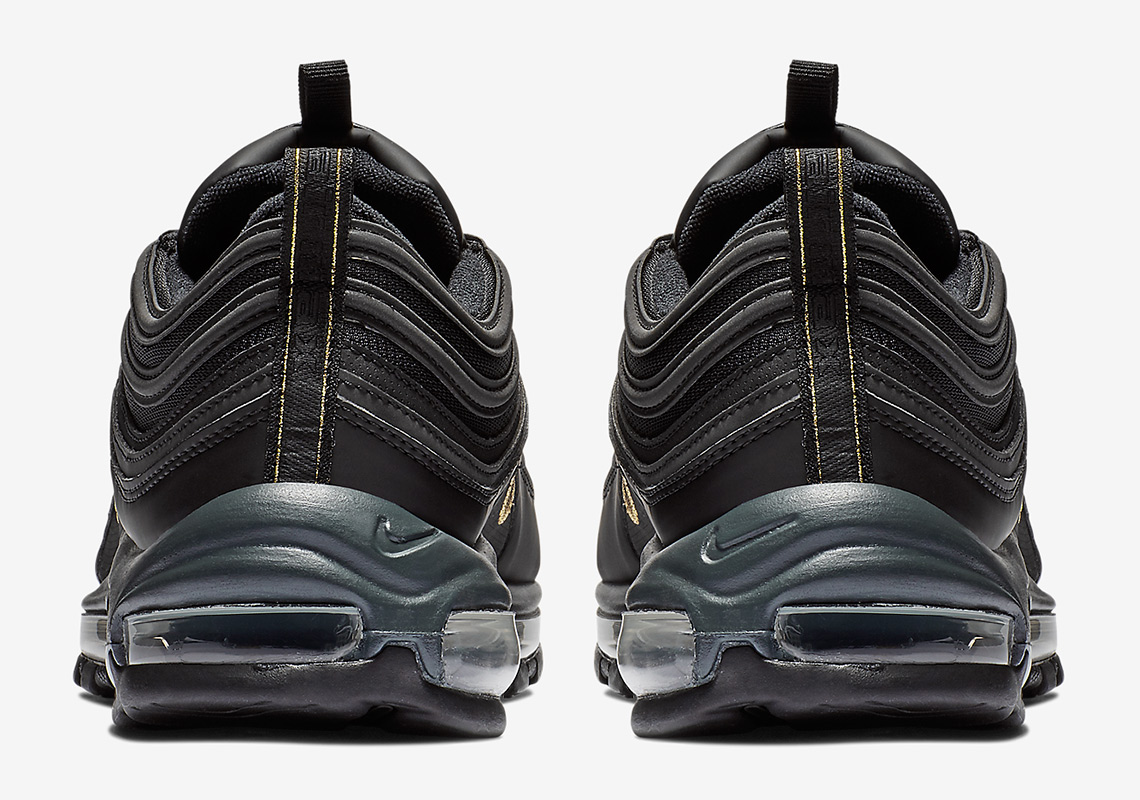 Nike Air Max 97  170. Color  Black Metallic Gold Anthracite Style Code   BQ4580-001. Where to Buy. Foot Locker Available. show comments 9faccb48f