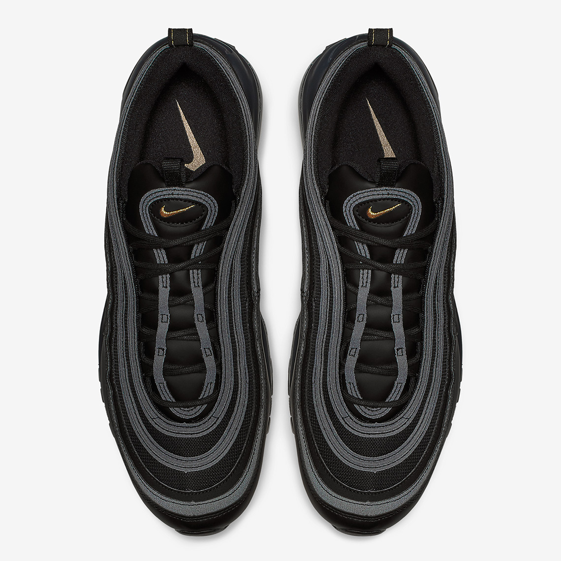 Nike Air Max 97  170. Color  Black Metallic Gold Anthracite Style Code   BQ4580-001. Where to Buy. Foot Locker Available ad4db28c1