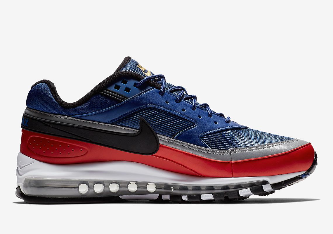 Nike Air Max 97BW Men´s Nike BasketBall Cheap Shoes Black Blue AO2406 003 AO2406 003 Official Basketball Shop Online
