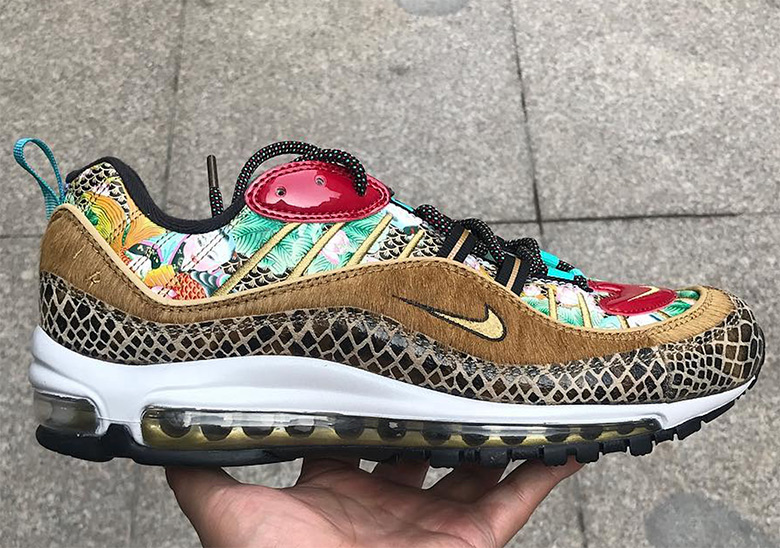 newest collection 48f3c b84bb Nike Air Max 98 Chinese New Year First Look   SneakerNews.com