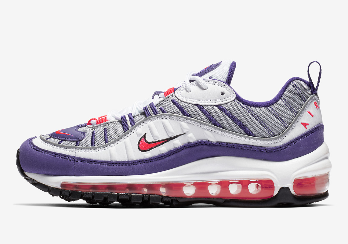 The Nike Air Max 98 For Women Gets A Raptors Colorway cc7dc48cd