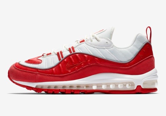 "Nike Air Max 98 ""University Red"" Is Coming Soon"