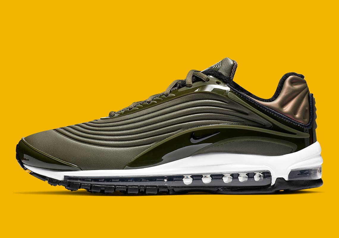 finest selection c2acf 41556 Nike Air Max Deluxe Olive Green Release Info   SneakerNews.com