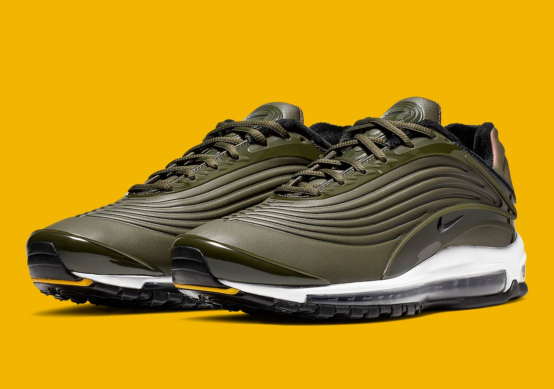 Nike Air Max Deluxe Olive Green Release Info |