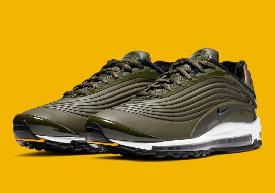 The Nike Air Max Deluxe SE Appears In A Lux Cargo Khaki