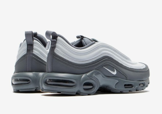 The Nike Air Max Plus 97 Arrives In Cool Grey