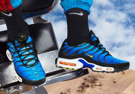 """Nike Is Bringing Back The Air Max Plus """"Hyper Blue"""" And Other Originals"""