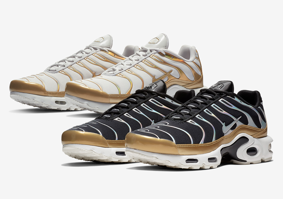 super quality a few days away first look Nike Air Max Plus Metallic Pack WMNS Release Info ...