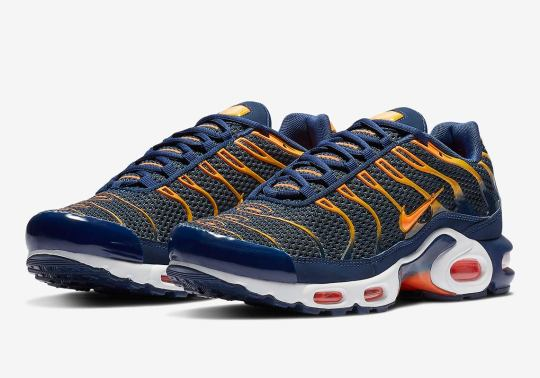 """The Nike Air Max Plus Arrives In """"Blue Void"""""""
