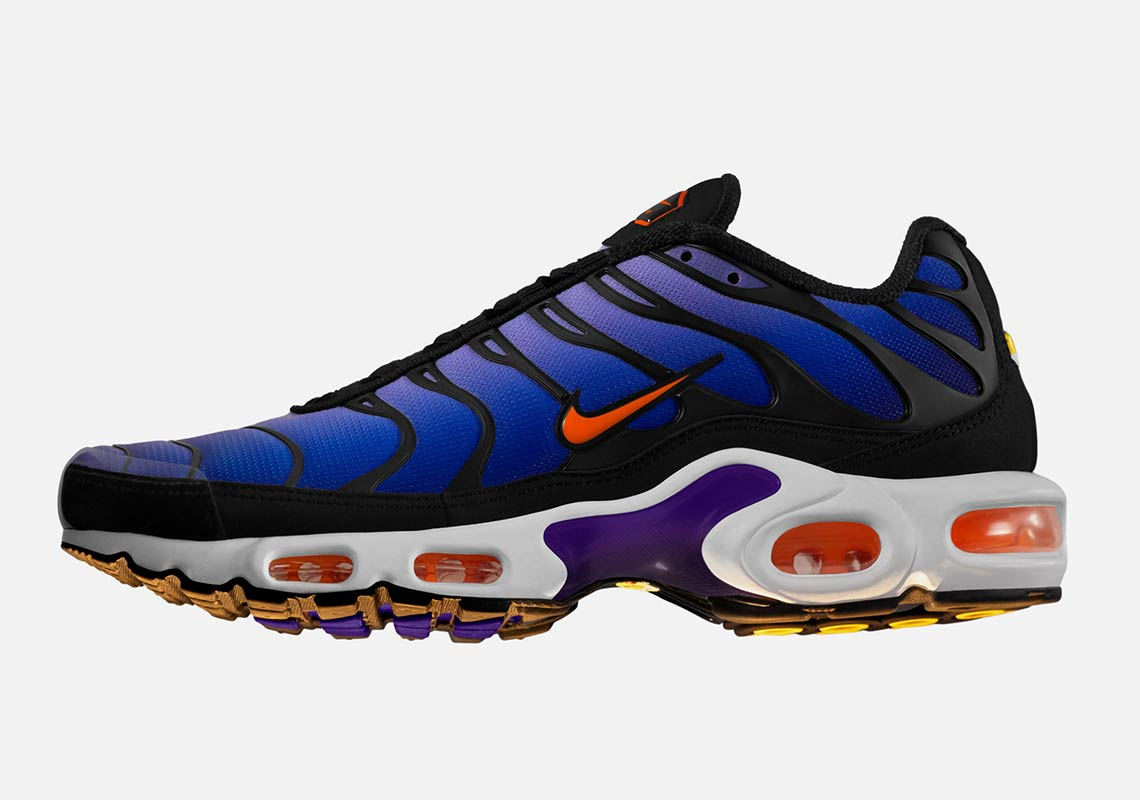 "cheap for discount 7738e 4a0fc Nike Air Max Plus ""Purple"" Release Date December 15, 2018 (Global)"