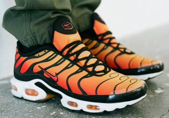 "The Nike Air Max Plus OG ""Sunset"" Is Releasing Next Week"