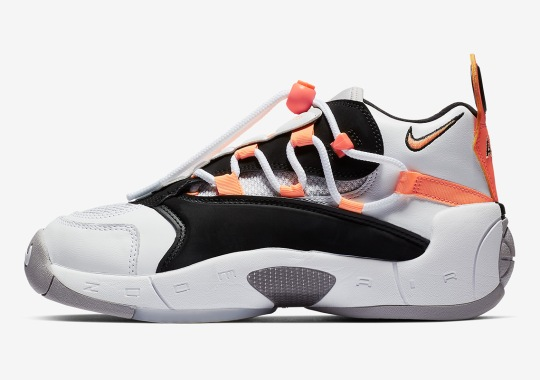 36ed25eee00 The Nike Air Swoopes II Arrives In A New Orange Pulse Colorway