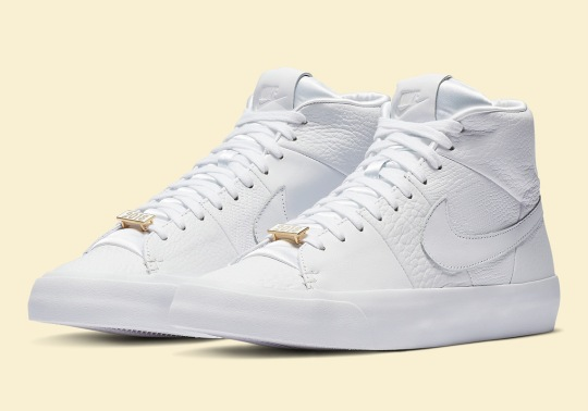 A Lux Take On The Nike Blazer Royal Is Dropping Soon