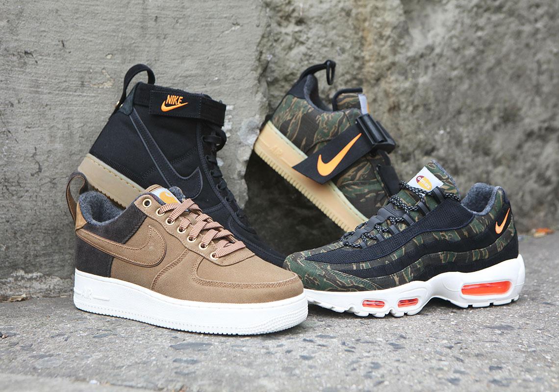 Carhartt WIP Nike Release Dates