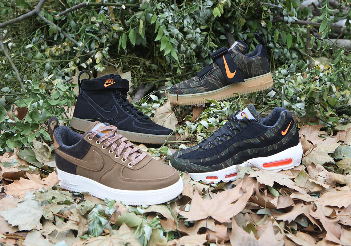 9e5133cf13 Detailed Look At The Carhartt WIP x Nike Sportswear Footwear Collection