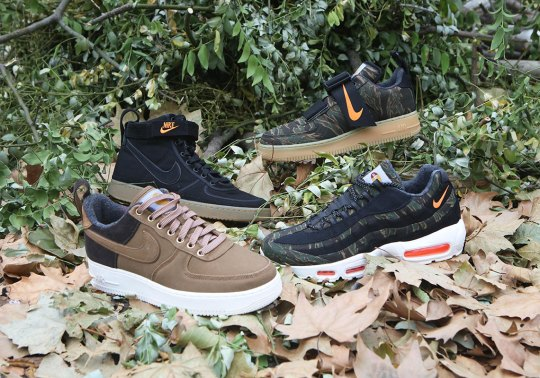 Detailed Look At The Carhartt WIP x Nike Sportswear Footwear Collection