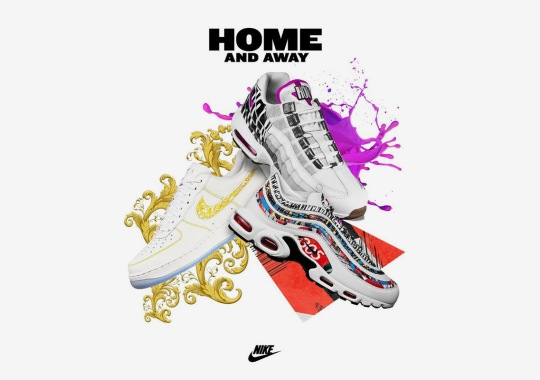 "Foot Locker And Nike Unveil The ""Home And Away"" Collection"