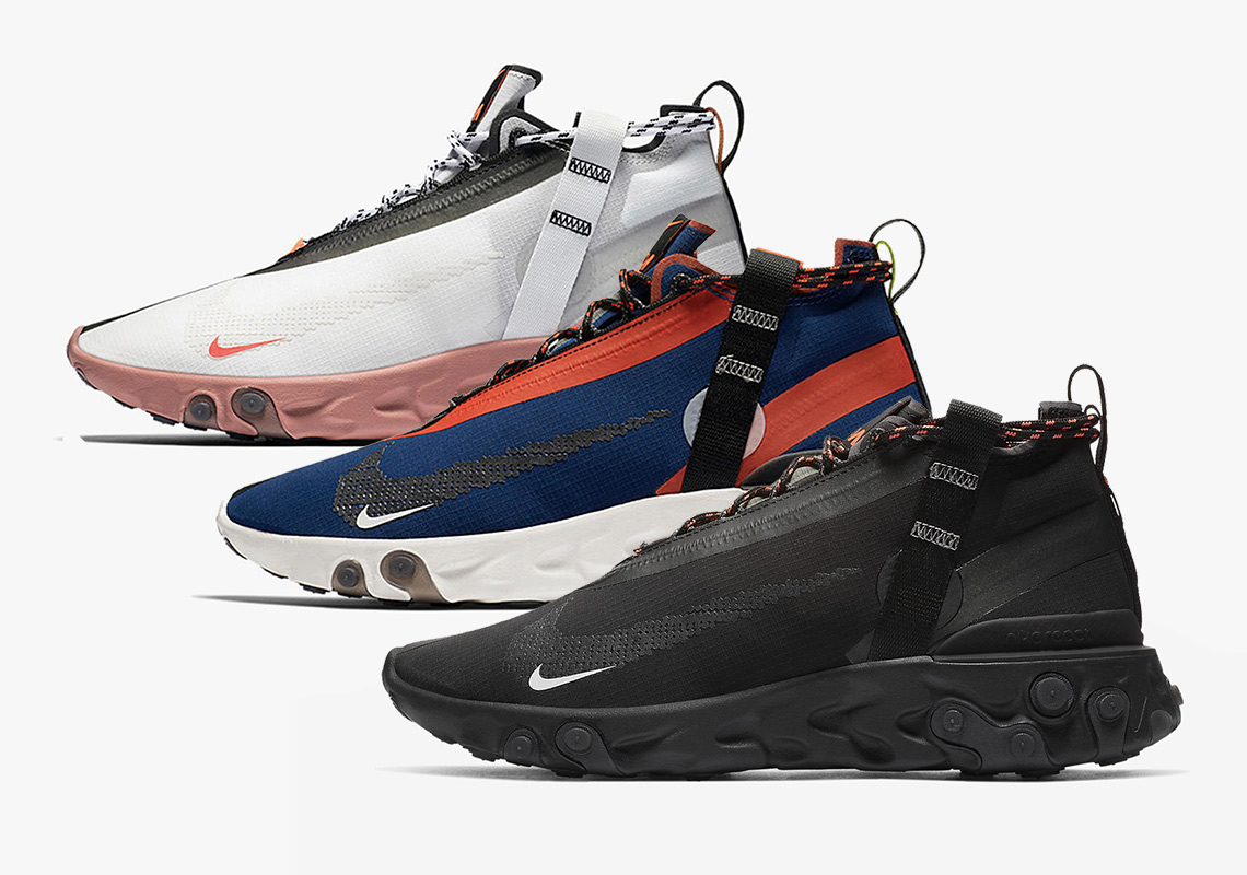Odio permanecer Vergonzoso  Nike React Runner Mid WR ISPA Buying Guide | SneakerNews.com