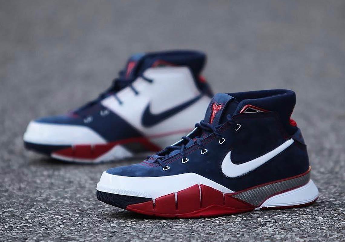 half off b3fd8 ea404 Nike Zoom Kobe 1 Protro USA AQ2728-400   SneakerNews.com
