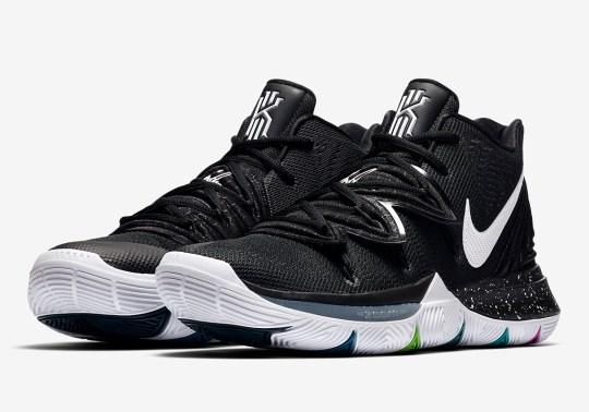 "Where To Buy The Nike Kyrie 5 ""Black Magic"""