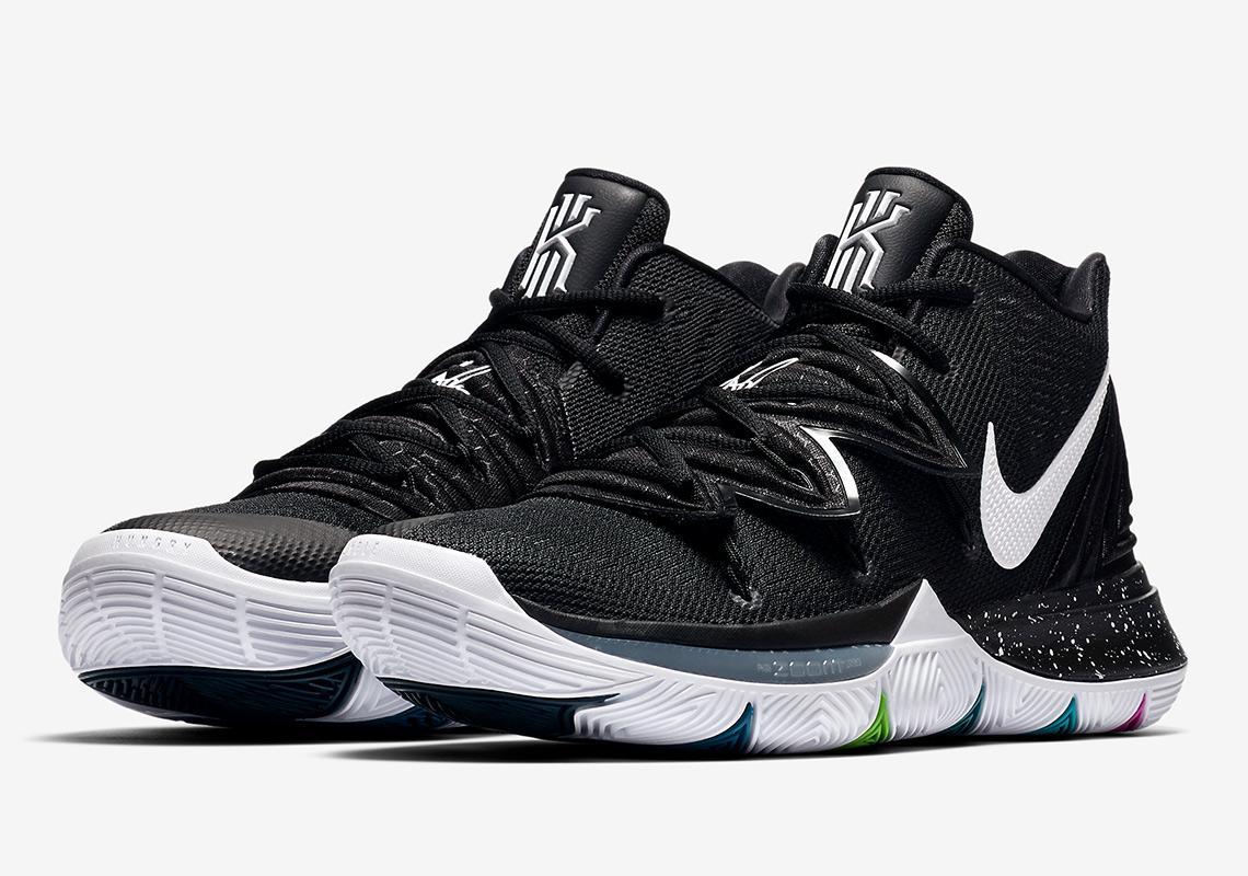 "0e423a9214 Nike Kyrie 5 ""Black Magic"" Release Date  November 23"