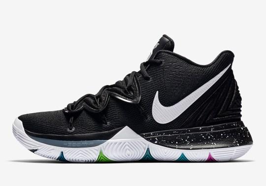 "The Nike Kyrie 5 ""Black Magic"" Releases Tomorrow"