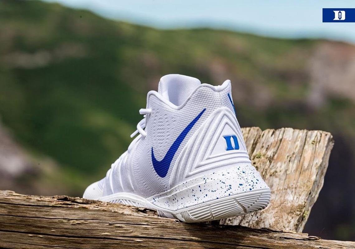 more photos 0c070 2553c Nike Kyrie 5 Duke Blue Devils PE | SneakerNew.com
