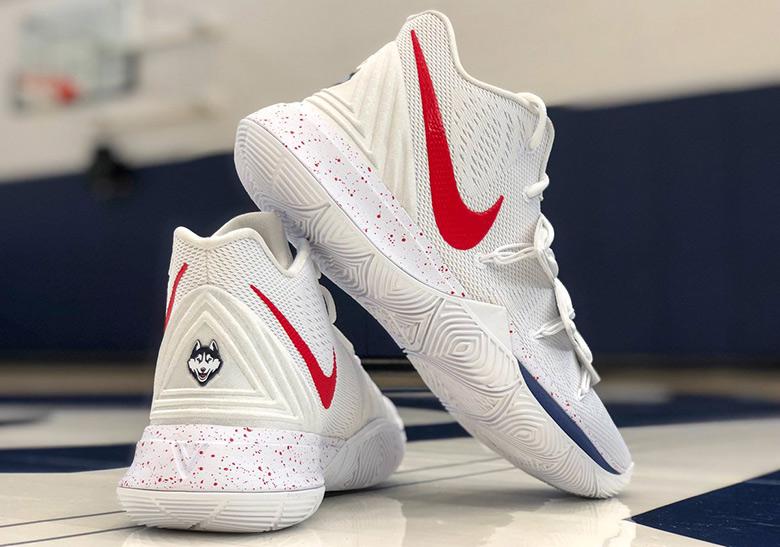 8aa9852c4e22 UConn Men s Basketball Shows Off A Nike Kyrie 5 PE