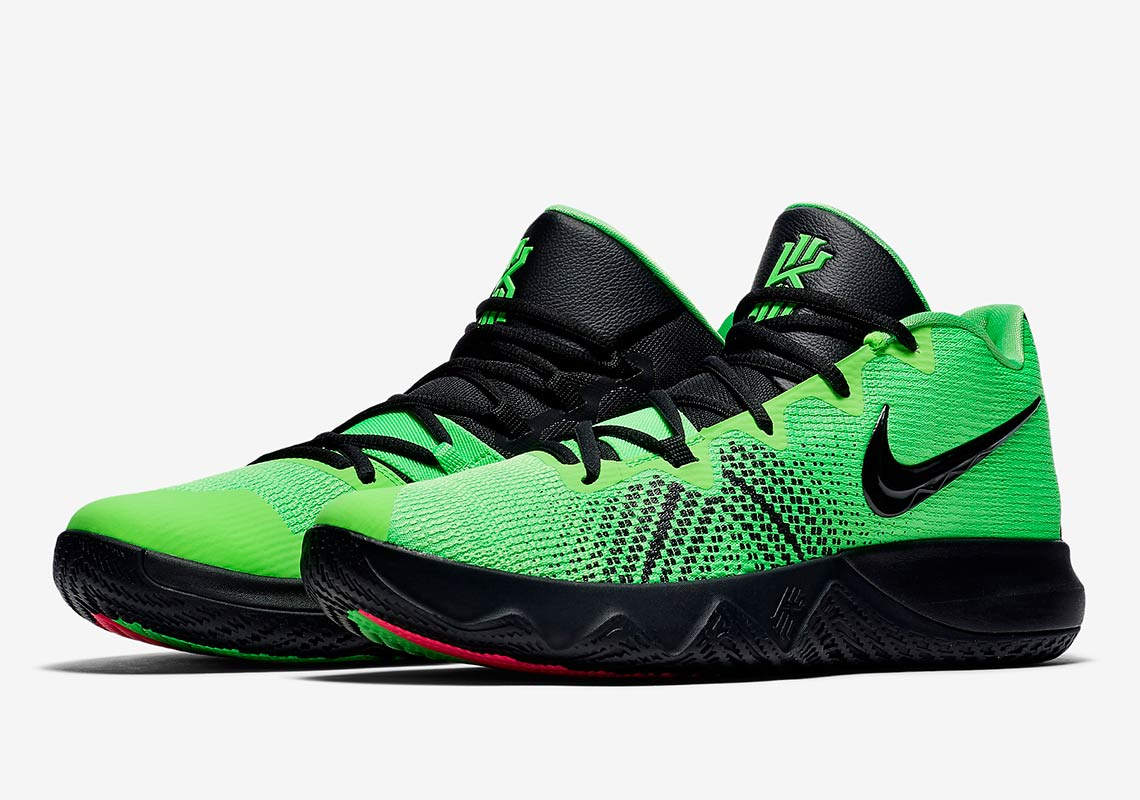 116f615eabf Kyrie Irving Channels His Inner Grinch With The Nike Kyrie Flytrap. December  8 ...