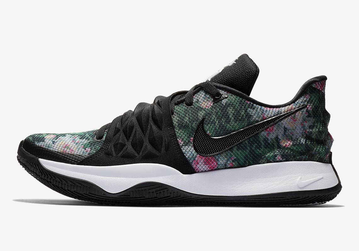 low priced 497aa 77a73 Nike Kyrie Low 1 Floral AO8979-002 Release Date ...