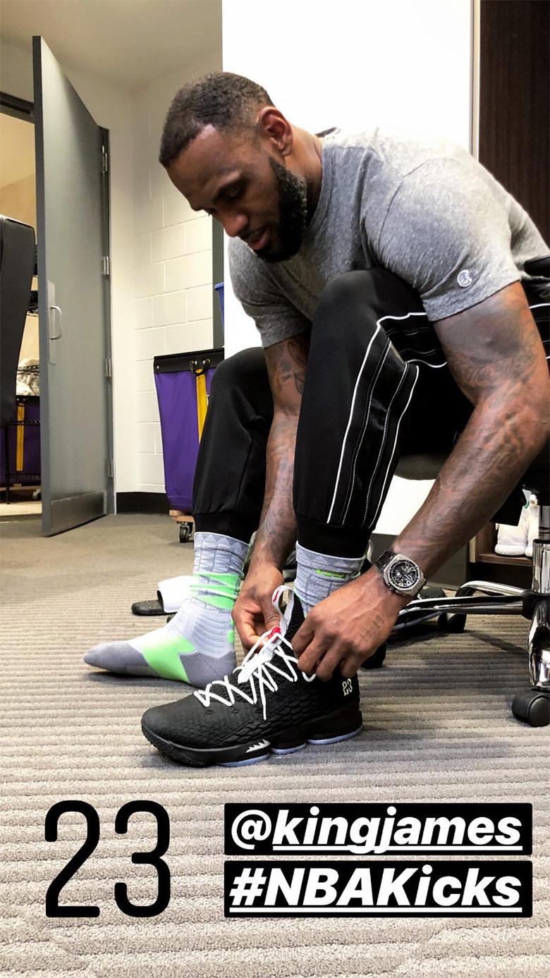 Nike LeBron 15 Air Jordan 5 Photos