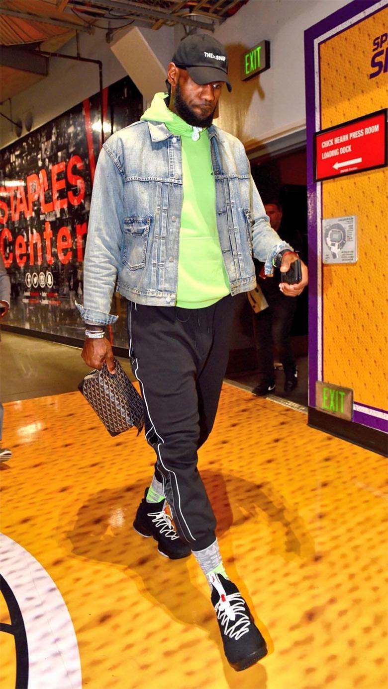 premium selection fcdaa fe7fa Nike LeBron 15 Air Jordan 5 Photos | SneakerNews.com