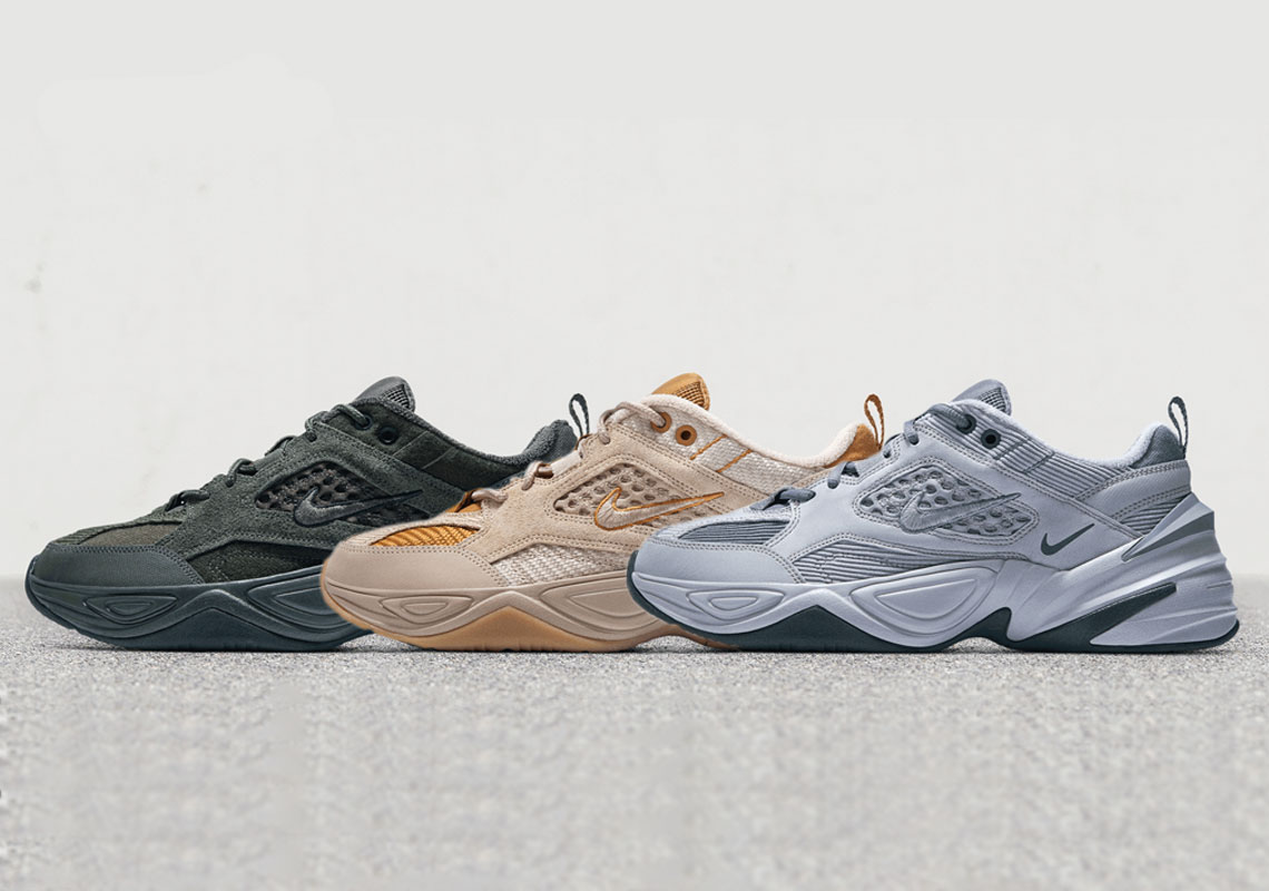 74a8e7409d8 Nike Equips The M2K Tekno In A Seasonal Array Of New Materials