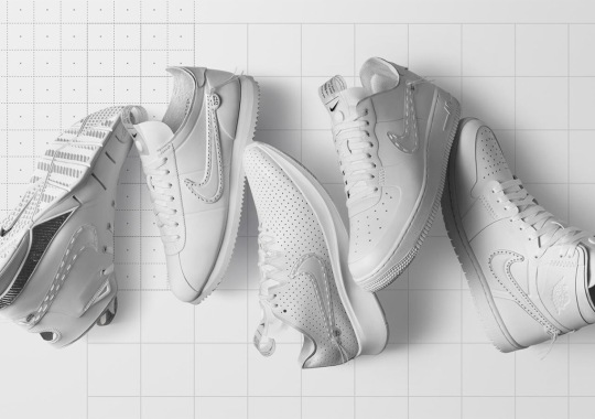 "Nike Commemorates New NYC Store With ""Noise Cancelling"" Collection"