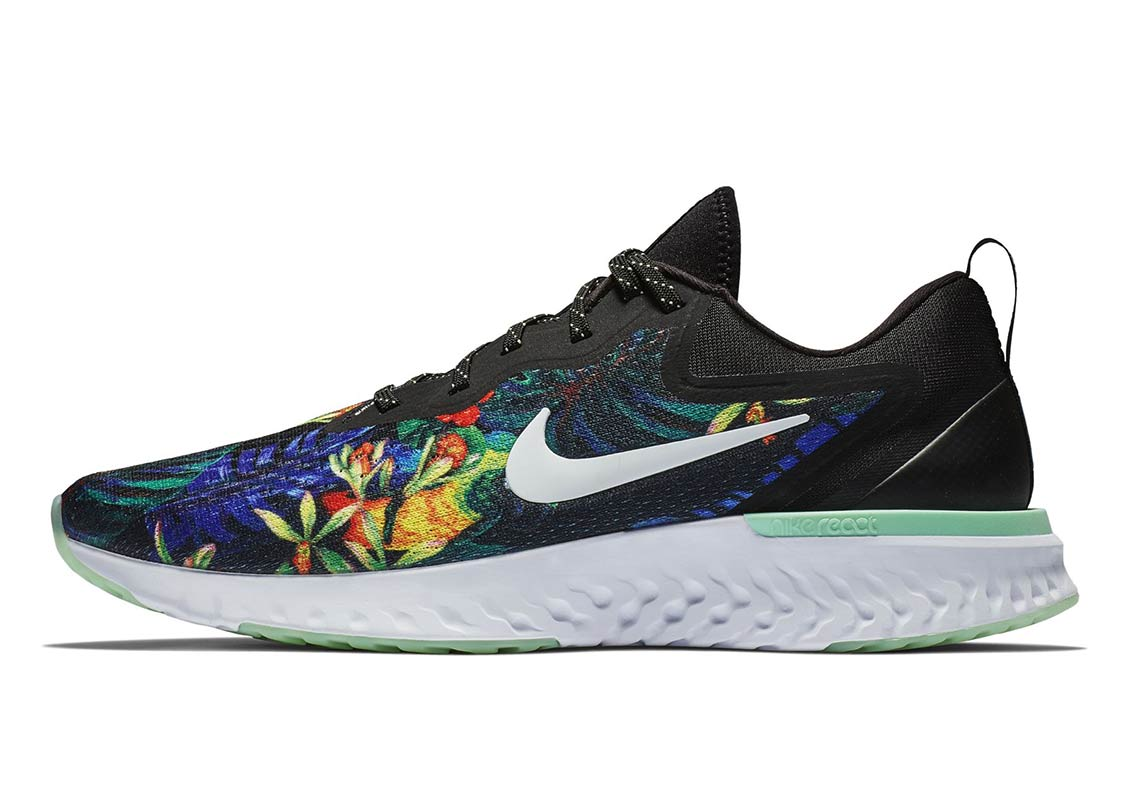 Nike Odyssey React Floral First Look + Release Info  ffc071366