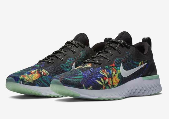 The Nike Odyssey React Gets A Colorful Floral Makeover