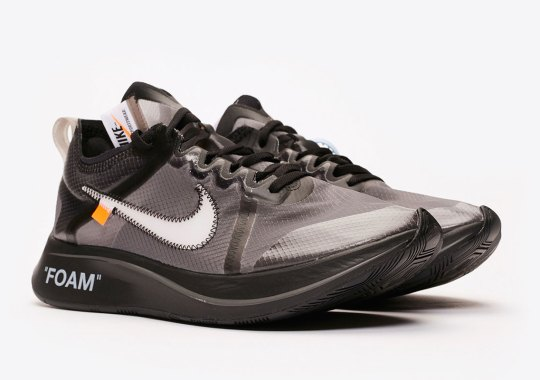 "Where To Buy The Off-White x Nike Zoom Fly SP ""Black"""