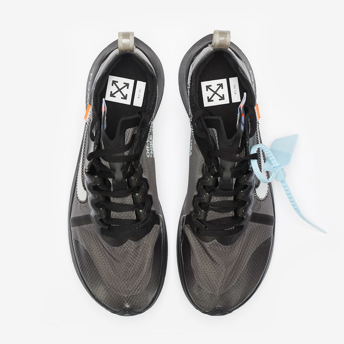 2d487e3227e4 Where To Buy Off White Nike Zoom Fly Black White Cone