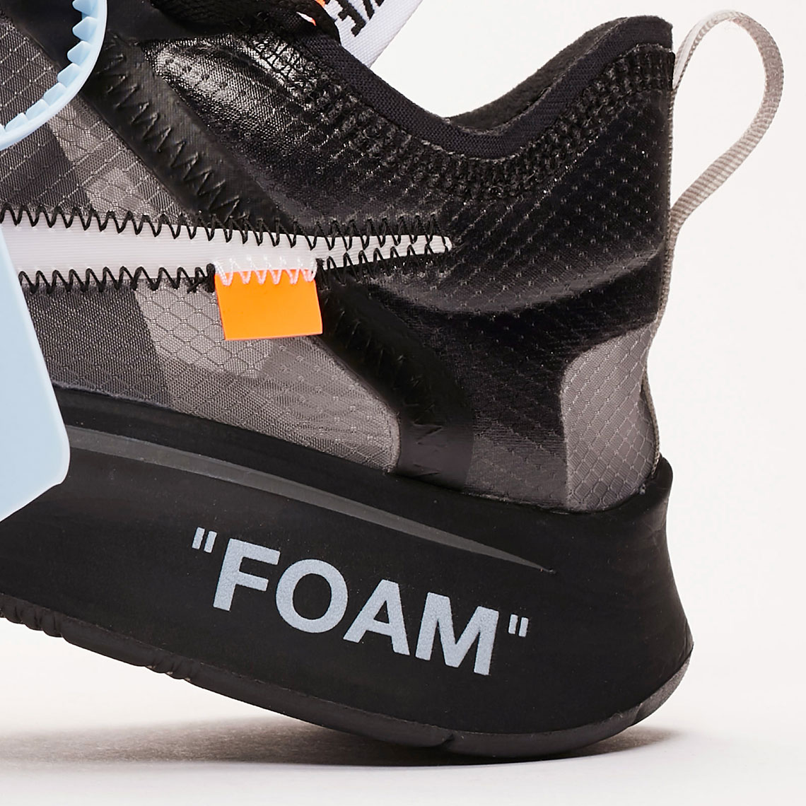 31773b7402c Where To Buy Off White Nike Zoom Fly Black White Cone | SneakerNews.com