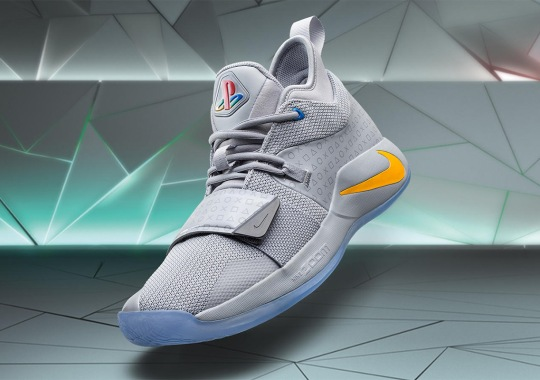 Sony PlayStation's First Console Inspired Next Nike Collaboration With Paul George